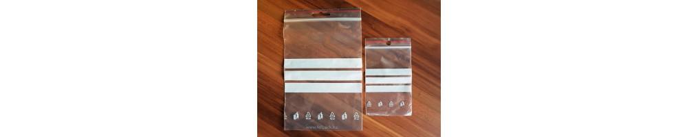 c908ecf914be Írható felületű simítózáras tasak - Csomagolóanyag, tasak, táska ...